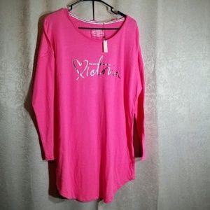 Victoria's Secret Pink NWT Night Shirt Gown sz L